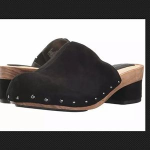 Jambu Monaco 6 Suede Clog Shoes Mule Slide NEW